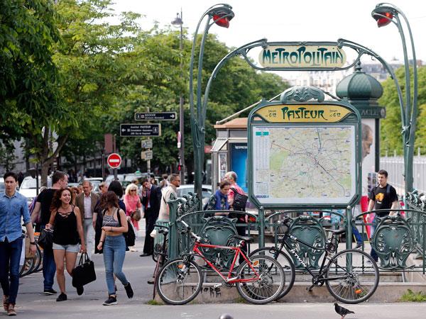 המטרו בפריז, הדרך הנוחה להתניידות בעיר  (getty images)