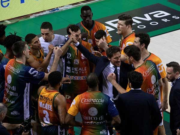 המאמן פוצקו עם חניכיו (getty, Emanuele Cremaschi)