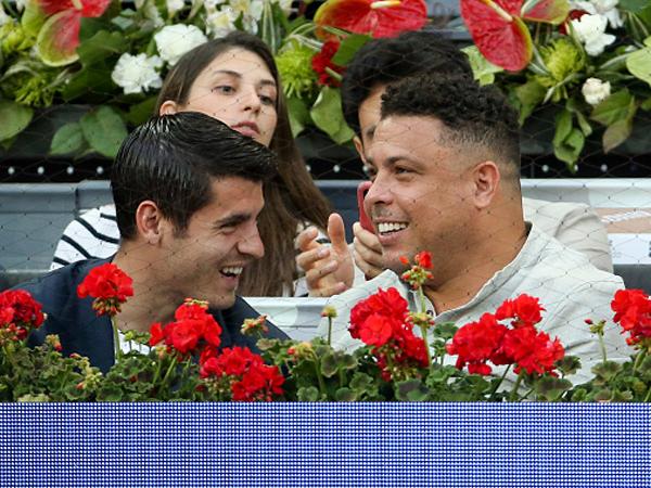 רונאלדו ומוראטה הגיעו לצפות (Jean Catuffe/Getty Images)