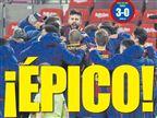"""""""מפואר"""", """"אפי"""": התקשורת מהללת את ברצלונה"""