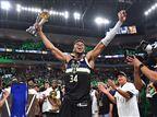 """""""מאושר כל כך"""": יאניס נבחר ל-MVP של הגמר"""
