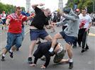 עשרות נפצעו בקרב בין אוהדי רוסיה ופולין