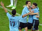 ספרד ואיטליה ברבע. 0:1 לאלופה על קרואטיה