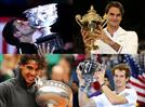 4 שחקנים בלב עולם הטניס, שהיה זוהר במיוחד ב-2012