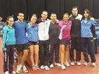 הנבחרות בטניס שולחן עלו לדרג ב' באירופה