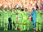 ברצלונה אלופה, 0:1 על אתלטיקו במדריד