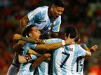 ארגנטינה חוגגת. ניצחון חוץ יקר מפז בסנטיאגו (getty)