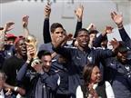 טירוף בפריז: מצעד הניצחון של אלופת העולם