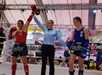 נילי בלאק היא אלופת העולם באגרוף תאילנדי