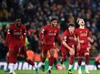 אחרי 5:5 (!) ופנדלים: ליברפול ברבע הגמר
