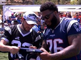 אל אל NFL: הביקור של כוכבי הפטריוטס בישראל