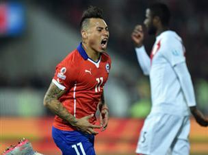 אדום גבולי ושער ענק: צ'ילה בגמר