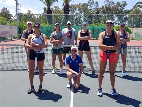 נבחרת הפדרציה (צילום: לידור גולדברג, איגוד הטניס)