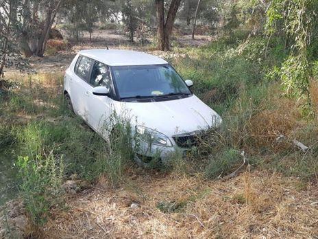 רכב מסוג  סקודה פביה שנמצא על ידי צוותי איתוראן