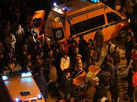 פינוי הפצועים באירוע מ-2012 (getty)