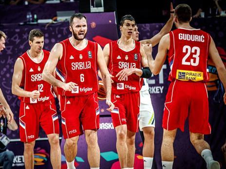 הסרבים קבעו מהפך 80:82 והיו בטוחים שהם בדרך לזכייה 4 ביורובאסקט (FIBA)