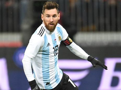 מסי וארגנטינה שוב מול ניגריה (getty)