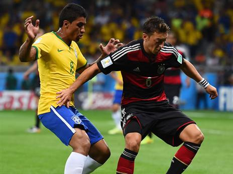 אולי תתפסו מפגש ענק בין גרמניה לברזיל (gettyimages)
