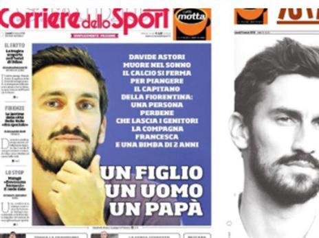 כותרות העיתונים באיטליה