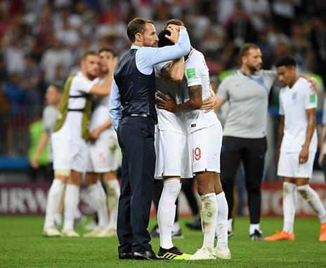 אנגליה טעתה במחצית השניה ושילמה ביוקר (getty)