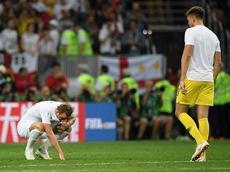 הלב נשבר, אך החזה נפוח. אנגליה חשה גאווה (getty)