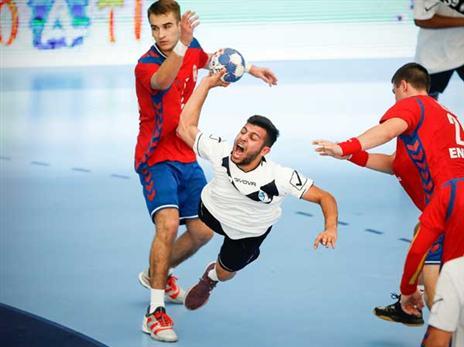 למברוזו, מועמד לקבוצת נוער בגרמניה (צילום: EHF)