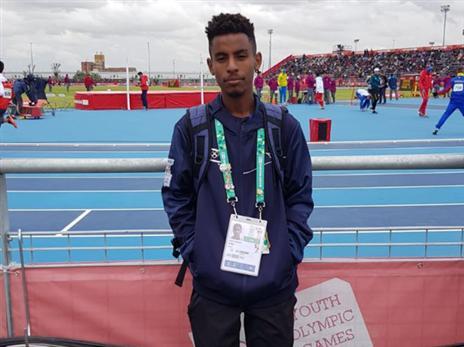 גואדה במקום ה-11 בריצת 3,000 (הוועד האולימפי בישראל)