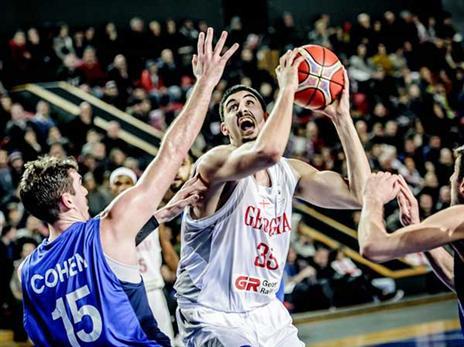 סיכוי קלוש לעבור את הגיאורגים (FIBA)