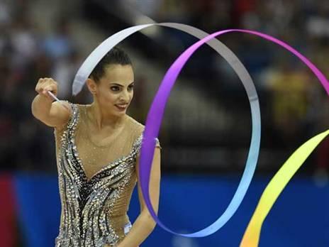 חתמה את התחרות עם מדליית כסף בסרט (צילום: עמית שיסל, באדיבות הוועד האולימפי בישראל)