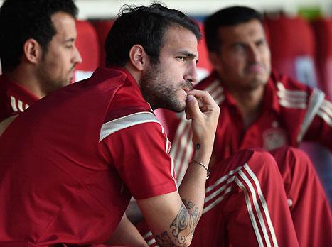 רק הספסל של ספרד שווה אליפות אירופה (gettyimages)
