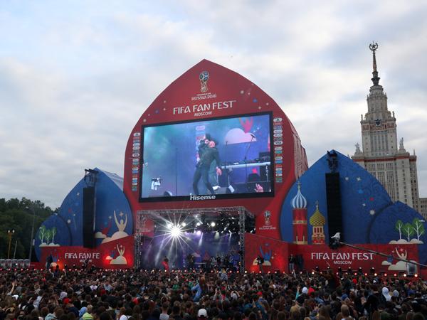 ה-Fan Fest במוסקבה