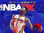 זאיון יככב על עטיפת הדור הבא של NBA 2K21