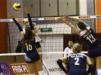 כדורעף נשים: העתודה הפסידה 3:1 לגרמניה