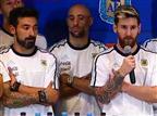 לא מוכנים להבליג. שחקני ארגנטינה (טוויטר)