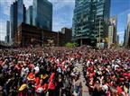 דרמה בטורונטו: ירי באמצע מצעד האליפות