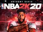 אנתוני דייויס יככב על עטיפת NBA 2K20