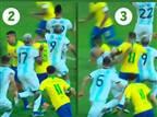 """""""השופט בארגנטינה-ברזיל סרב ללכת ל-VAR"""""""