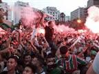 טירוף בקהיר: צפו בחגיגות אוהדי אלג'יריה