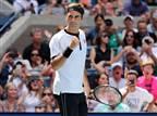 שיעור טניס: פדרר מחץ את גופן תוך 77 דקות