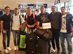 נבחרת הדייויס של ישראל נחתה בשבדיה