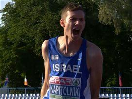 ענק: קפיטולניק אלוף אירופה בקפיצה לגובה עד גיל 20