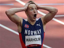 שיא עולם מדהים לורהולם ב-400 מ' משוכות