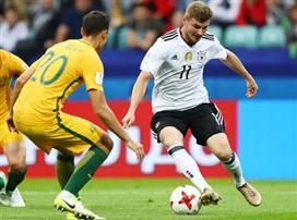ברגל ימין: גרמניה גברה על אוסטרליה