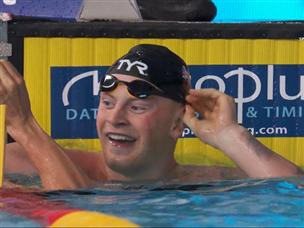 פיטי ניפץ את שיא העולם ב-100 מ' חזה