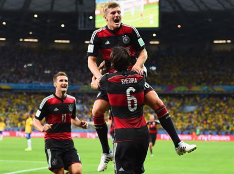 הניצחון הגדול בהיסטוריה? קרוס וגרמניה חוגגים כל הדרך לגמר (gettyimages)