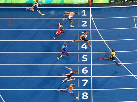 ניצחון ב-200 מטר בריו. דאבל כבר יש (gettyimages)