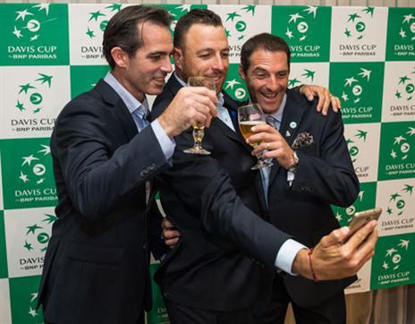 המשלחת הישראלית כבר מוכנה (איגוד הטניס)