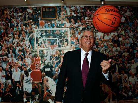 1.2 - היום לפני 33 שנים נכנס לתפקיד הקומישינר של ה-NBA דייויד סטרן. סטרן היה בתפקיד עד 2014 אז הוחלף על ידי הקומישינר הנוכחי, אדם סילבר (getty)