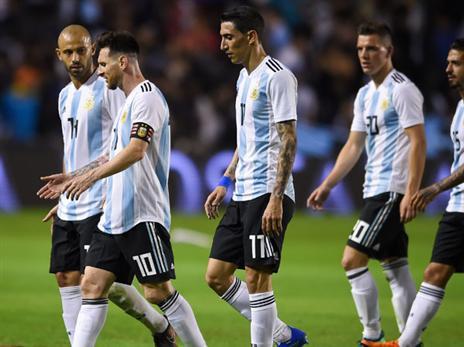 """ראשי הנבחרת הארגנטינאית מנהלים ברוסיה  מו""""מ על הפיצוי לקומטק (Getty)"""