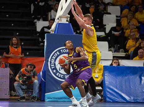 חולון לא מצליחה לתת פייט (FIBA)